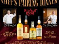 Chef's Whiskey Pairing Dinner
