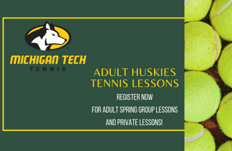 Adult Huskies Tennis Lessons at Gates Tennis Center