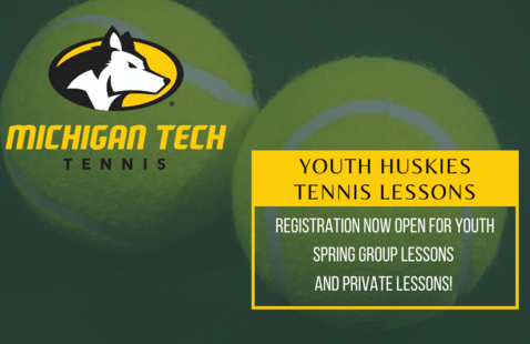 Youth Huskies Tennis Lessons at Gates Tennis Center