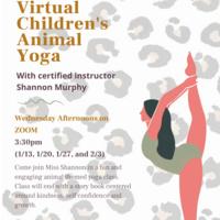 Virtual Children's Animal Yoga