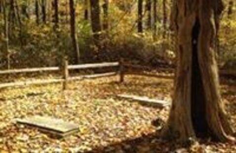 Edmond's Cemetery at Harmonie State Park