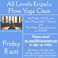 Kripalu Flow Yoga Class