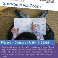 Story Time Via Zoom