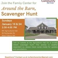 Around the Barn Scavenger Hunt
