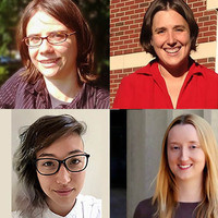 from top left: Drs Ana Bell, Jessica Sandland, Mary Ellen Wiltrout, Monika Avello