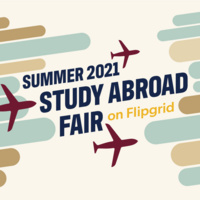 Summer 2021 Study Abroad Fair graphic