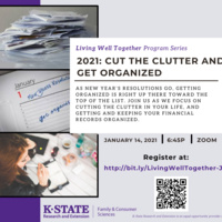 Living Well Together: Cut the Clutter and Get Organized