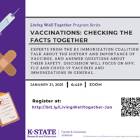 Living Well Together: Vaccinations Checking the Facts Together