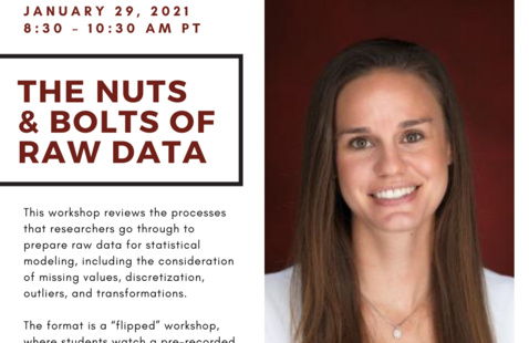 The Nuts and Bolts of Raw Data with Professor Angela Vossmeyer