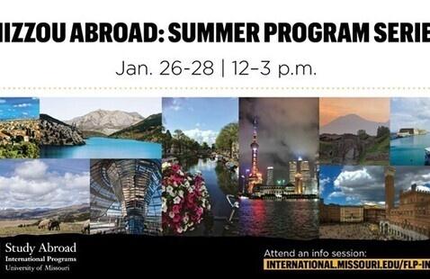 Mizzou Abroad: Summer Program Series