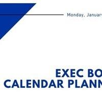 IFC Exec Meeting: Goal Setting and Calendar Planning