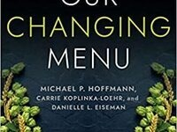 "Cover of ""Our Changing Menu: Climate Change and the Foods We Love and Need"""