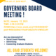 GSC Governing Board Meeting
