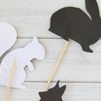 Take & Make: DIY Shadow Puppets
