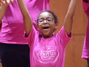 Audition Dates Added for Children's Chorus of Maryland!