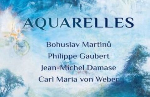 Aquarelles CD Release Online Celebration
