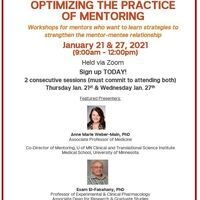 CTSC Optimizing the Practice of Mentoring