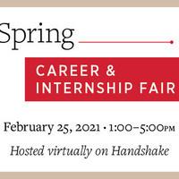 Spring Career & Internship Fair 2021