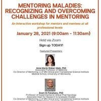 CTC Mentoring Maladies: Recognizing and Overcoming Challenges in Mentoring