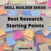 Best Research Starting Points
