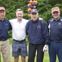 Bob DeYoung '56 at the 2019 Golf Outing