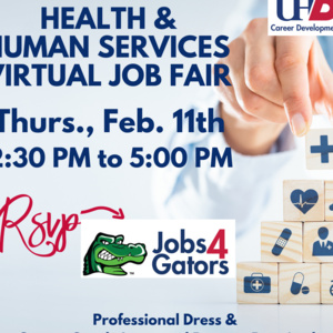Health & Human Services Virtual Job Fair Feb. 11