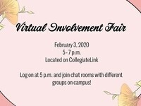 Spring Virtual Involvement Fair
