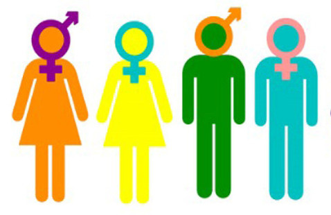 women and men symbols