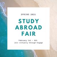 Spring 2021 Study Abroad Fair