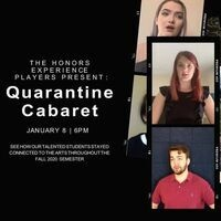 HEPlayers Welcome Back Quarantine Cabaret