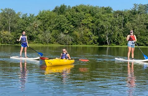 Lake Raleigh Paddling