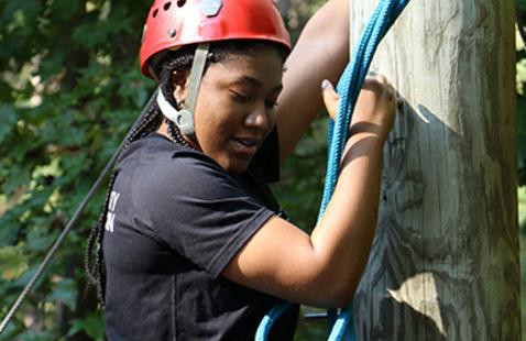 High Rope Open Climb and Zipline