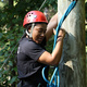 High Rope Open Climb and Zipline