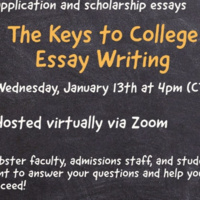 Keys to College Essay Writing