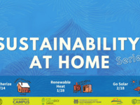 Sustainability at Home- Weatherize!