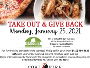 Bridges' Restaurant Day at Coal Fire
