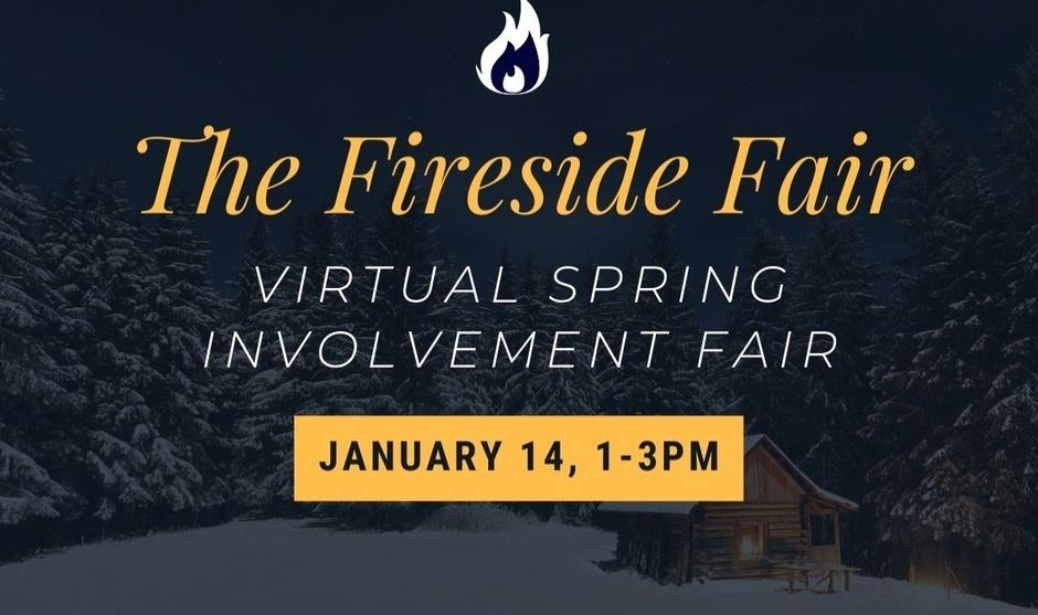 The Fireside Virtual Student Involvement Fair