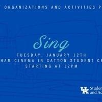 SOA's Cinema Series: Sing