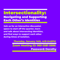 Intersectionality: Navigating and Supporting Each Other's Identities