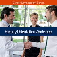 Faculty Orientation Workshop