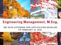 Engineering Management Program M.Eng. Info. Session