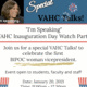 "VAHC Talks! Lunch Series: ""Inauguration Day Watch Party"""