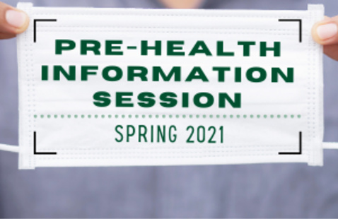 Pre-Health 101 Information Session