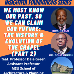 Insightful Foundations Series:  January 14, 2021, 11 a.m.