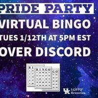 Pride Party: Virtual Bingo