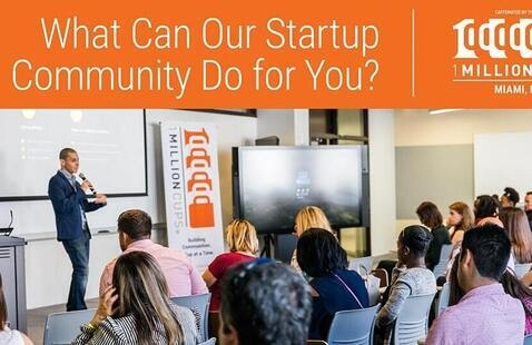 Virtual One Million Cups Miami