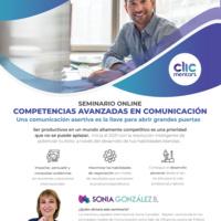 Seminario Competencias Avanzadas en Comunicación (en español)