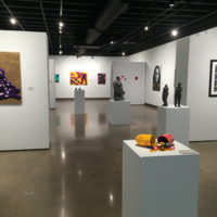 Image: BFA Capstone Exhibition, 2020, installation view.