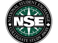 NSE: National Student Exchange, Collegiate Study Away (logo)