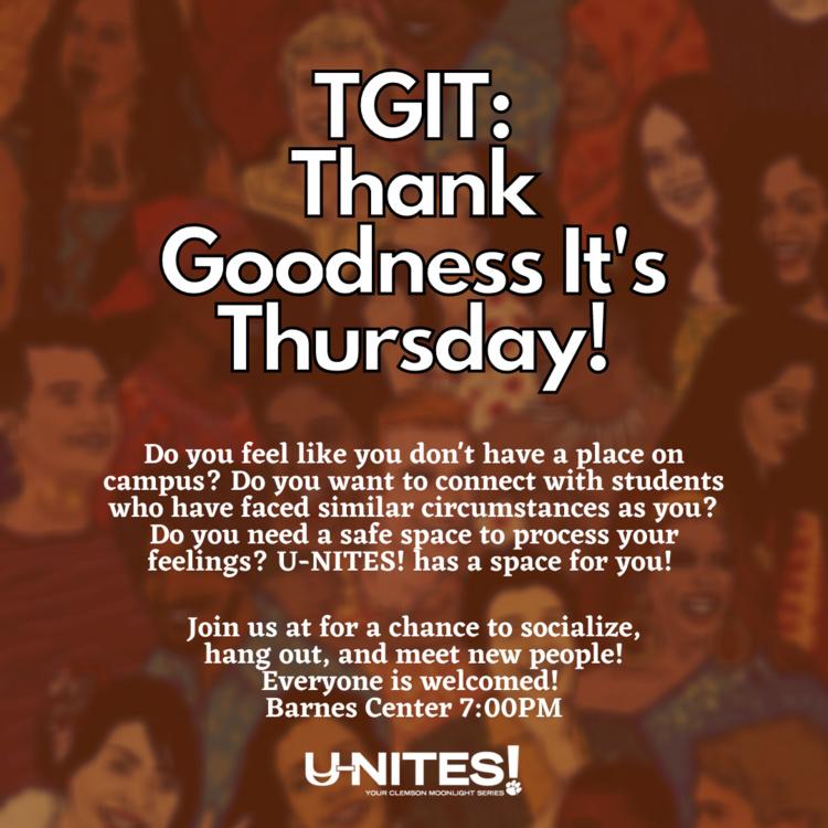 U-NITES! TGIT: Thank Goodness It's Thursday